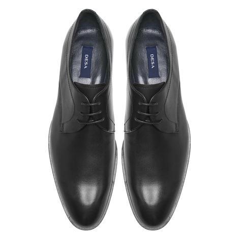 Orio Siyah Erkek Deri Klasik Ayakkabı 2010048207004