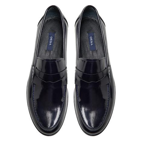 Charlton Lacivert Erkek Rugan Klasik Ayakkabı 2010047992014